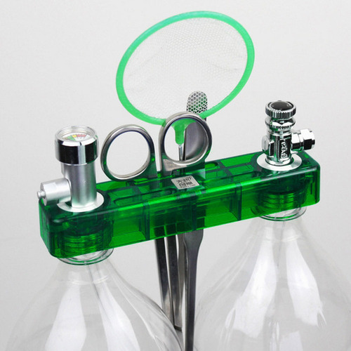 Diy Co2 Generador De Sistema Kit Con Presión Guage Safe Vavl