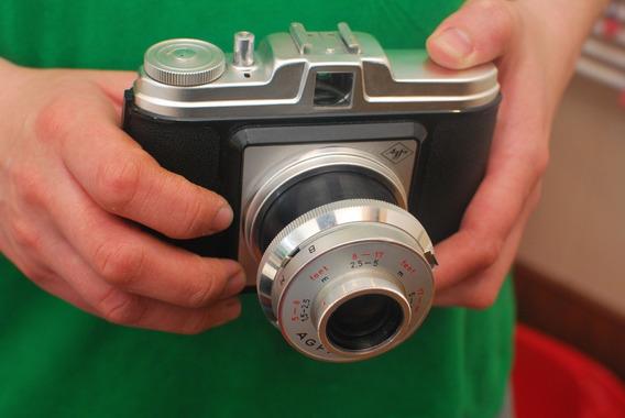 Câmera Fotográfica Agfa Isola Vintage Camera De 1959