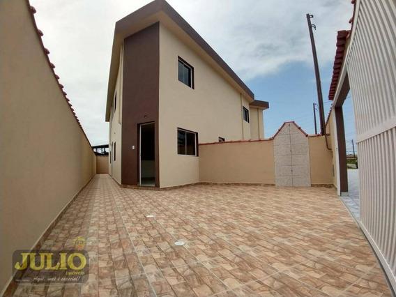 Casa Com 2 Dormitórios À Venda, 60 M² Por R$ 135.000,00 - Campos Elíseos - Itanhaém/sp - Ca3373