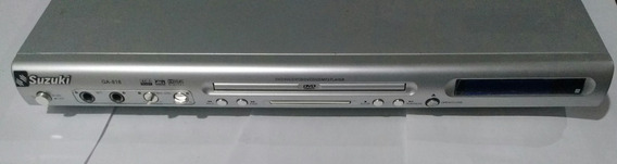 Dvd Player Suzuki Ga-818 Mp3 Dvcd Svcd Vcd
