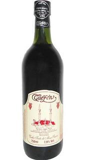 Vinho Tinto Suave Leve Isabel/bordô 750ml - Guéfen