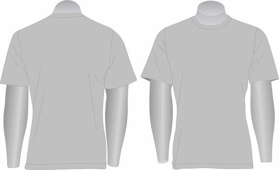 Kit 10 Camisetas Básica Gola Redonda Pv