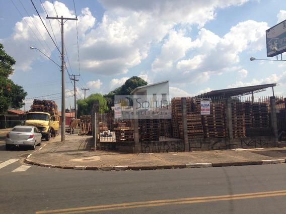Terreno Comercial Para Locação, Conjunto Habitacional Padre Anchieta, Campinas. - Te0052