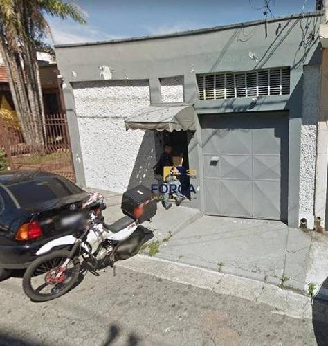 Galpão Para Alugar, 240 M² - Quarta Parada - São Paulo/sp - Ga0786