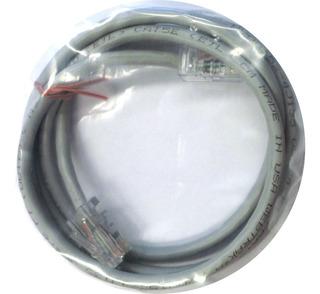 Cable De Red Derecho 110 Cm Cat 5 Gris Lineal E1052