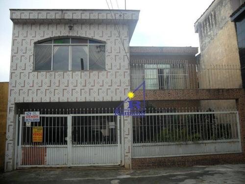 Sobrado Residencial À Venda, Chácara Belenzinho, São Paulo. - So0005