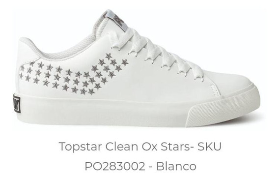 Zapatilla Pony Topstar Clean Ox Star
