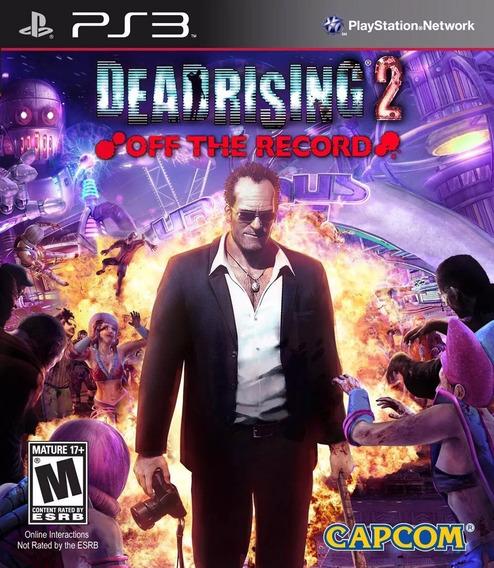 Dead Rising 2 Off The Record - Ps3 Midia Fisica ( Game Tech)