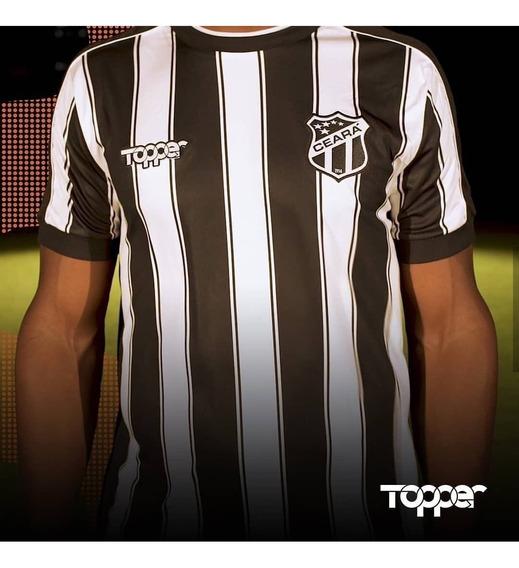 Camisa Ceara Topper 2019/2020 Oficial Listrada
