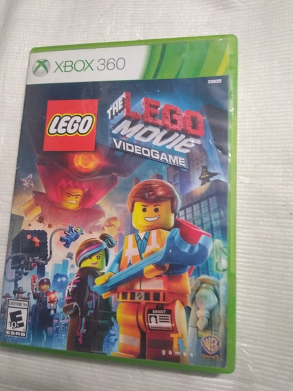 Lego Movie Vídeo Game Xbox 360 Mídia Física