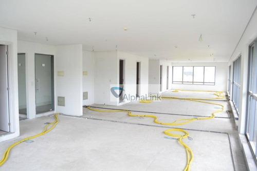 Sala, 430 M² - Venda Por R$ 2.500.000,00 Ou Aluguel Por R$ 13.000,00/mês - Empresarial 18 Do Forte - Barueri/sp - Sa0340