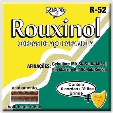 Encordoamento Rouxinol Viola R-52