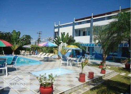 Imagem 1 de 4 de Pousada  10 Quartos À Venda Por R$ 1.300.000 A 250 Metros Da Praia - Itanhaém/sp - Opportunity For Investors - Hostel For Sale In Itanhém - Brazil - Po0001