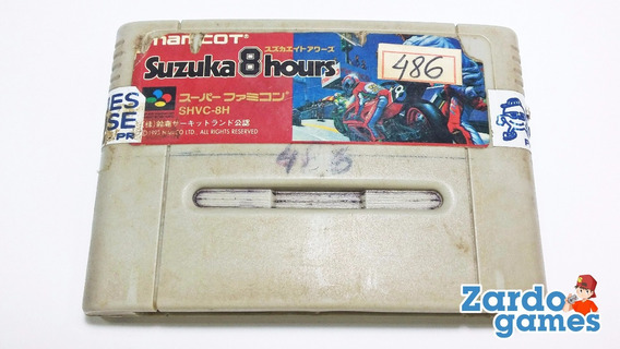 Suzuka 8 Hours - Super Nintendo - Funcinando
