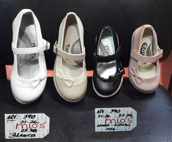 Zapato Guillermina Fiesta Comunion Bautismo Nena 21 Al 26