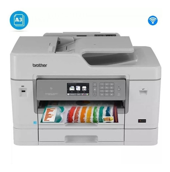 Multifuncional Brother Mfc-j6935dw 6935 J6935 Color A3+nfe