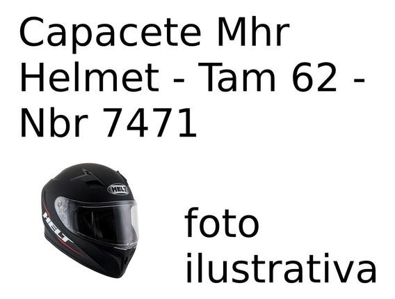 Capacete Mhr Helmet - Tam 62 - Nbr 7471