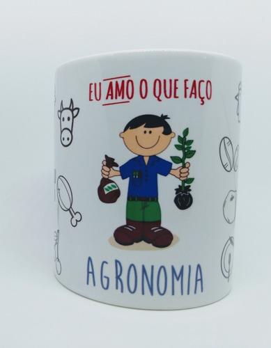 Caneca Personalizada Profissão Agronomia - Agrônomo