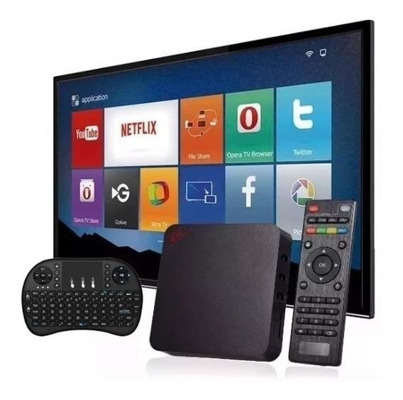 Aparelho Conversor Smart Box Tv 16gb+teclado Pronta Entrega