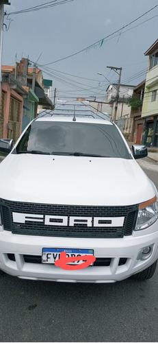 Imagem 1 de 9 de Ford Ranger 2014 2.5 Xlt Cab. Dupla 4x2 Flex 4p