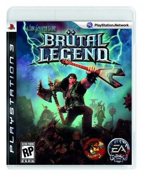 Brutal Legend Seminovo Ps3! Loja Física!