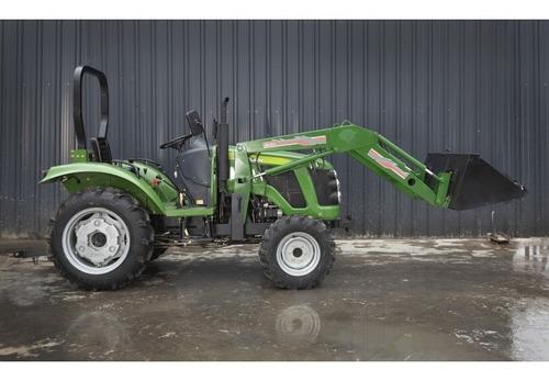 Tractor Con Pala Cargadora  4x4