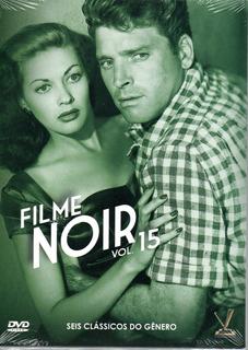 Dvd Filme Noir 15 Com Cards - Versatil - Bonellihq N20