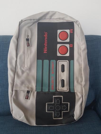 Mochila Nintendo Control Nes Tienda Ny 100% Original Ed Lim
