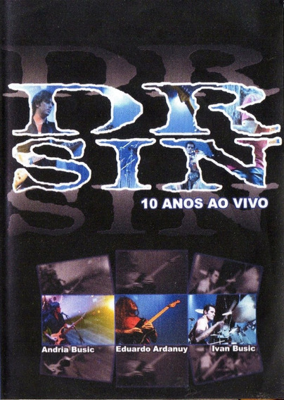 Dvd Dr. Sin - 10 Anos Ao Vivo