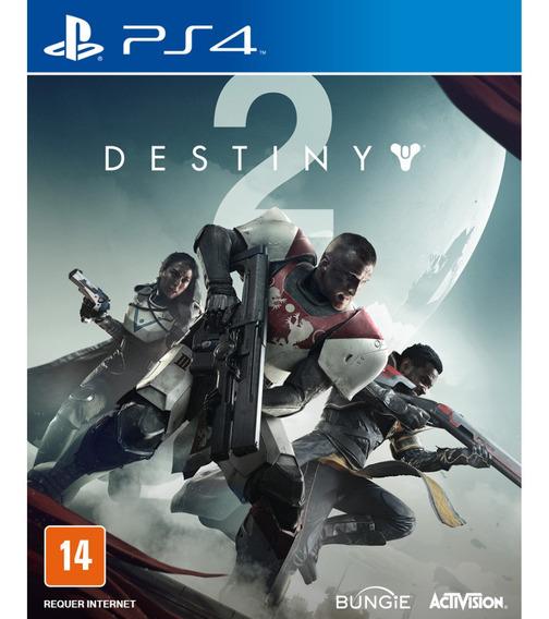Destiny 2 - Em Português - Midia Fisica - Novo - Ps4 Lacrado
