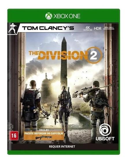 The Division 2 Xbox One / Mídia Física / Novo Lacrado + Dlc