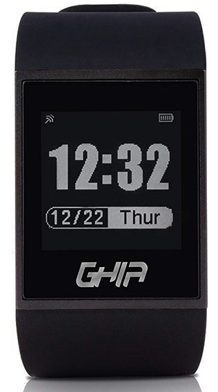 Reloj Smartwatch Ghia Touch Bluetooth Android Ios Negro