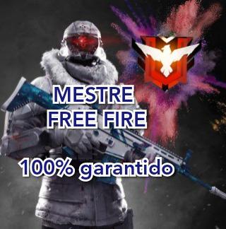 Mestre Free Fire/ Platina Ao Mestre
