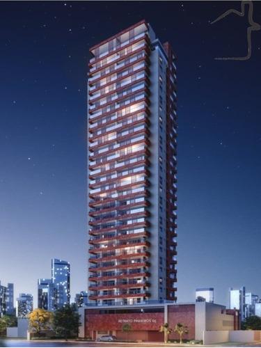Imagem 1 de 29 de Apartamento 73m² 2 Dorms. 1 Suíte 2 Vagas Em Pinheiros - Ap01098 - 68693105