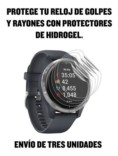 Protector Hidrogel Para Relojes Garmin - Envío