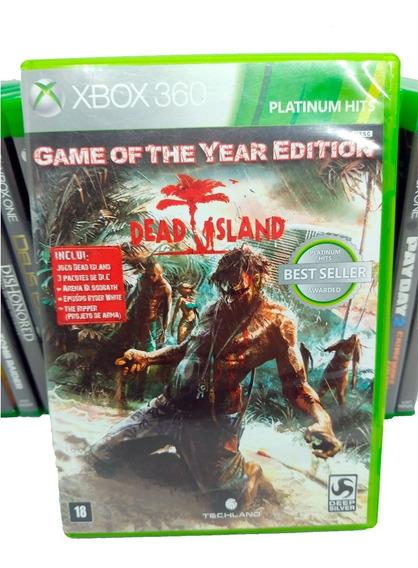Dead Island Game O Year Jogos Xbox 360 Midia Fisica Original