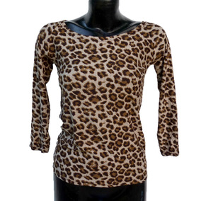 Blusa De Leopardo Para Dama Envío Gratis
