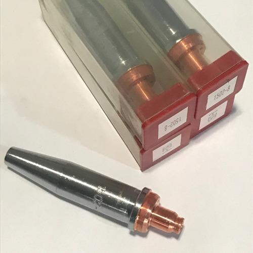 Kit Com 5 Un. Bico De Corte  N°8 1502 - Maçarico