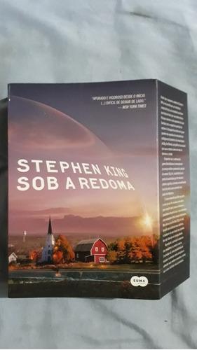 Livro Sob A Redoma Stephen King Novo Vl76