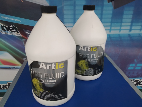 Liquido Para Maquina De Humo Artic 3.8 Lts Alta Duracion