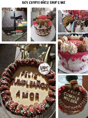 Torta De Cumpleaños Happy Box Para 6 Personas