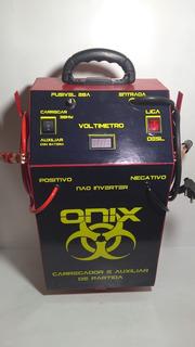 Carregador De Bateria 300a 12v C/ Auxiliar De Partida