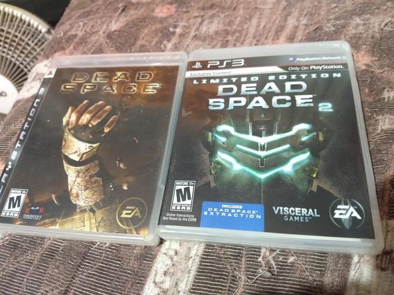 Dead Space 1 E 2 (ps3) - Mídia Física