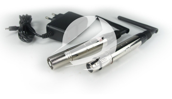Kit C/ 4 Antenas Dmx Wireless 2,4ghz Transmissor Ou Receptor