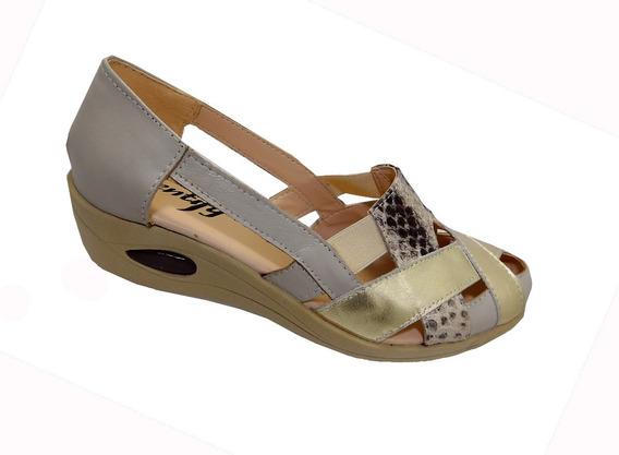 Calzado Sandalia Cuero - Calzados Union Art 512