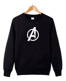 Blusa Avengers Vingadores Marvel Moletom Casaco #gr28