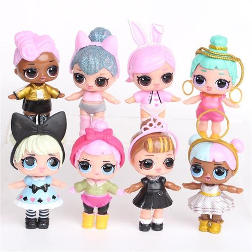 Boneca Surpresa Lol Brinquedo 8pcs