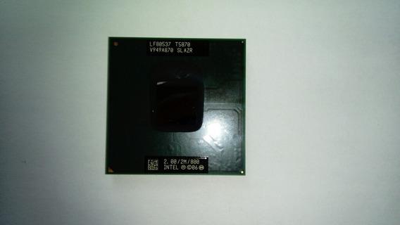 Processador Intel Core T5870 (2.00/2m/800) Notebook Frete Gr