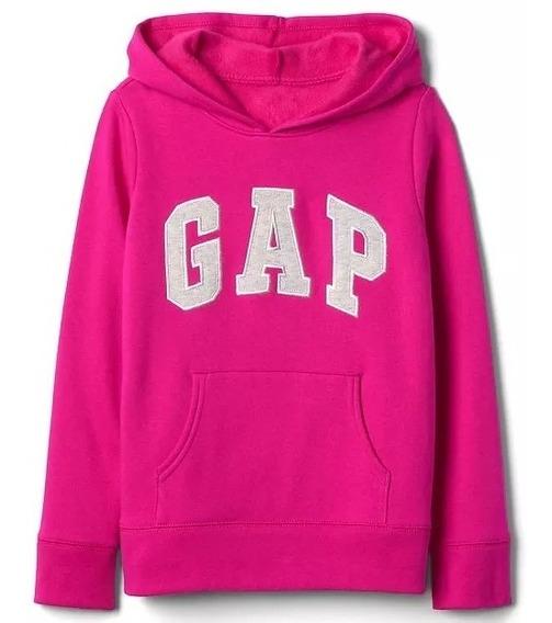 Moletom Gap Rosa Pink - Tamanho M Infantil - 8-9 Anos