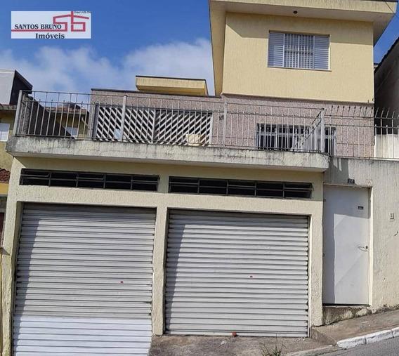 Sobrado Com 3 Dormitórios Para Alugar, 120 M² Por R$ 2.500,00/mês - Vila Pirituba - São Paulo/sp - So1139